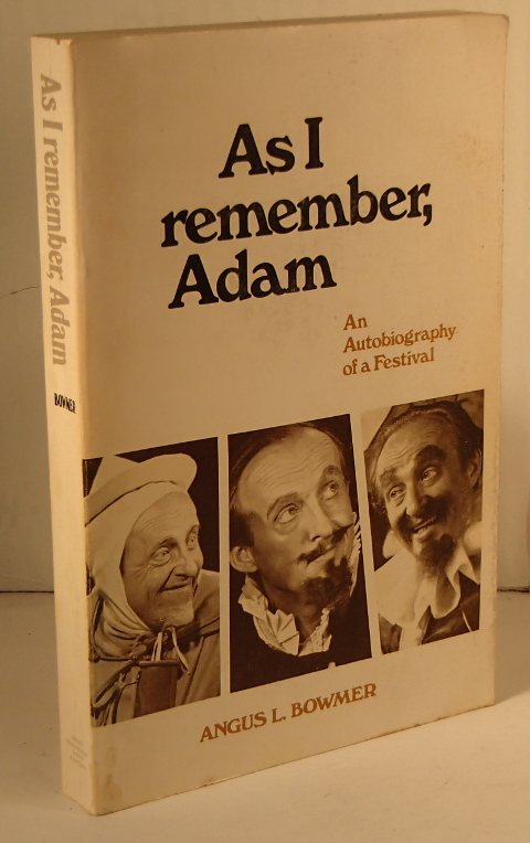 As I Remember, Adam an Autobiography of a Festival